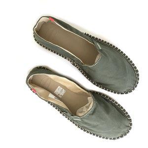 d94d0c9efe159 Havaianas Shoes - Havaianas Olive Green Origine II Espadrilles